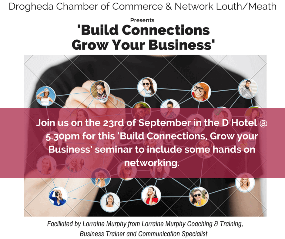 network ireland louth flyer design