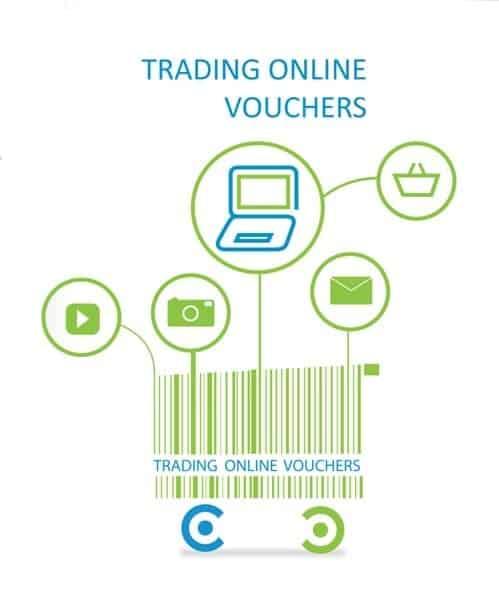 online trading voucher LEO Web Design website grant