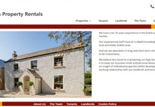 Dublin Property Rentals home page