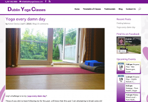 Dublin yoga classes