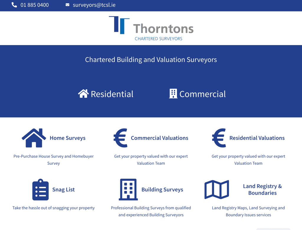 Thorntons Home Page - Visible