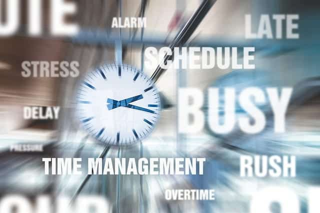 busy hurry time management