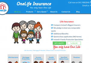 New website for OneLife Insurance