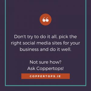 Graphic - Choosing Social Media