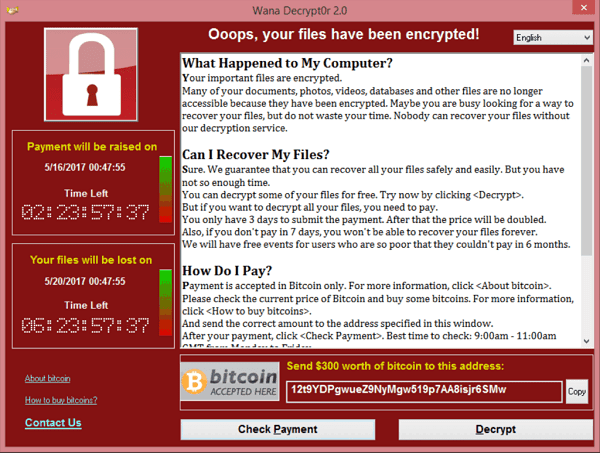 ransomware web security