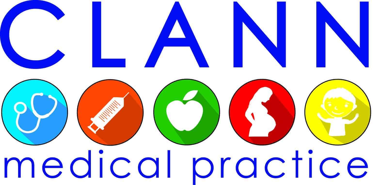 Clann Medical logo design