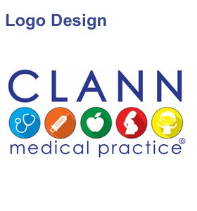 clann medical logo design