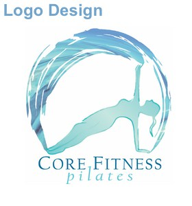 core fitness togher logo design
