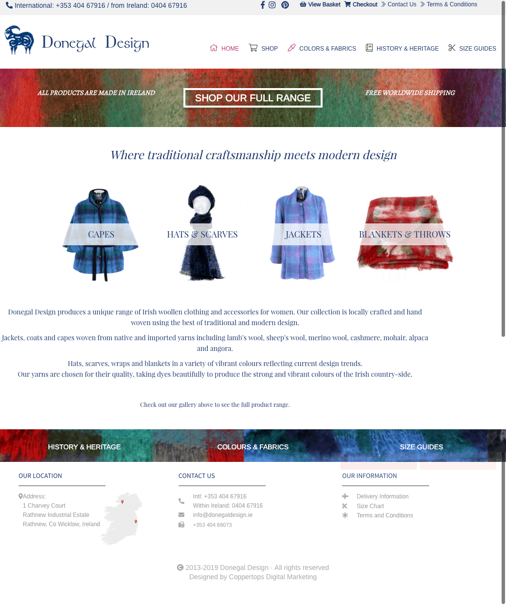 Donegal Design Web Design