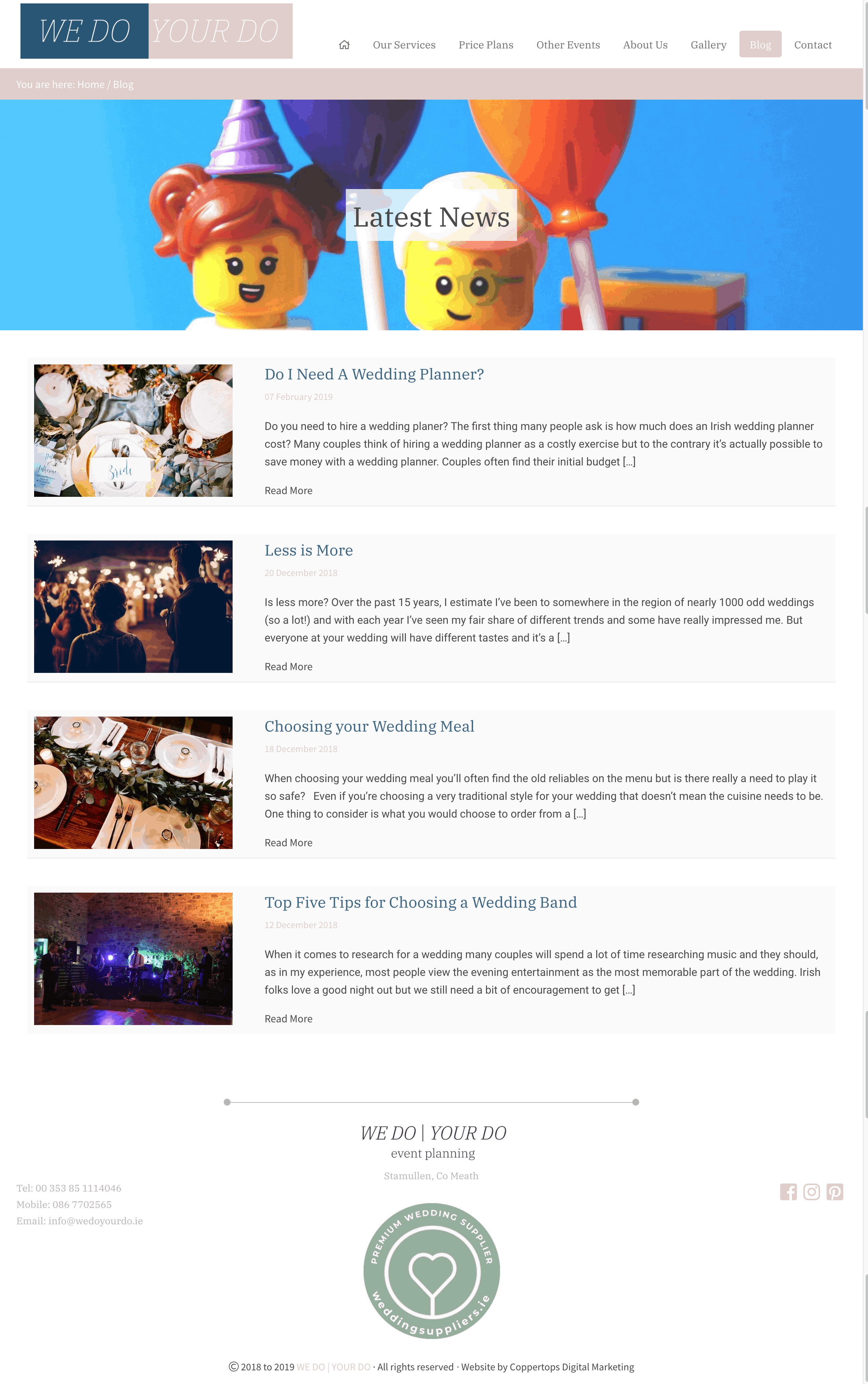 We Do Your Do web design