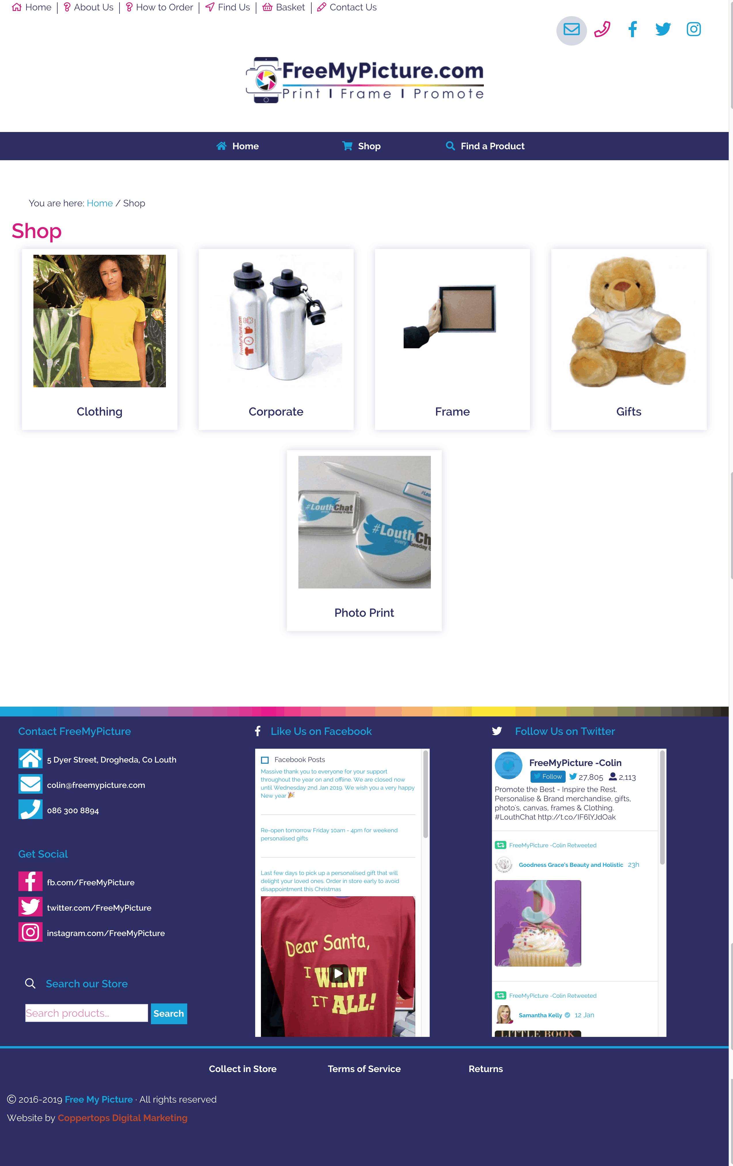 Free My Picture Web Design
