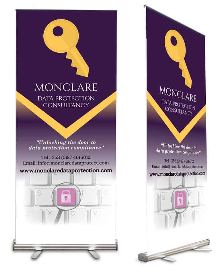 Monclare Data Protection Logo Design