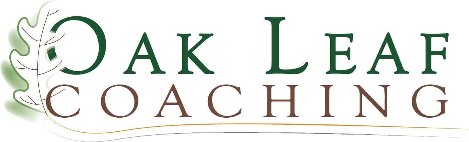 Oak Leaf Coaching Logo Design