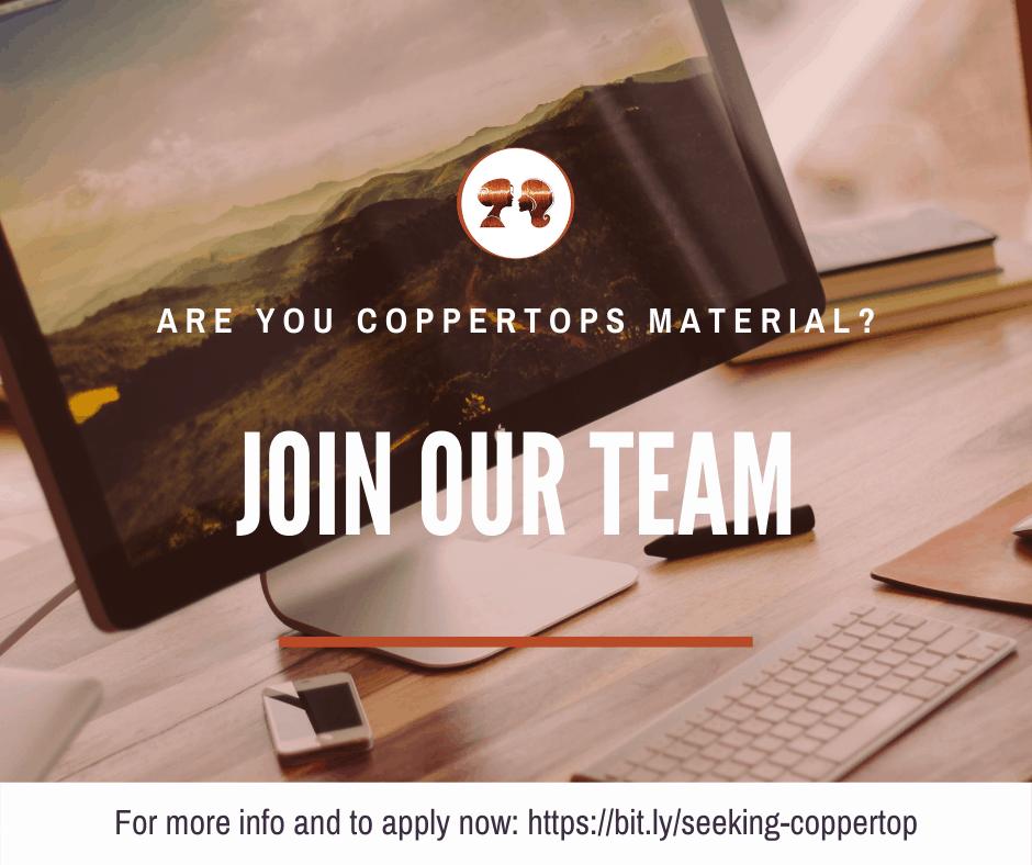 Seeking New Coppertop